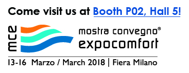 Booth P02 Hall 5 at Mostra Convegno 2018